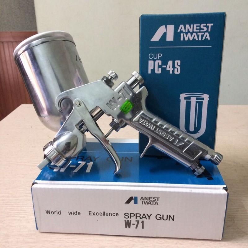 Súng phun sơn phun bóng ô tô Inest Iwata 1.3mm đã bao gồm cốc 400ml