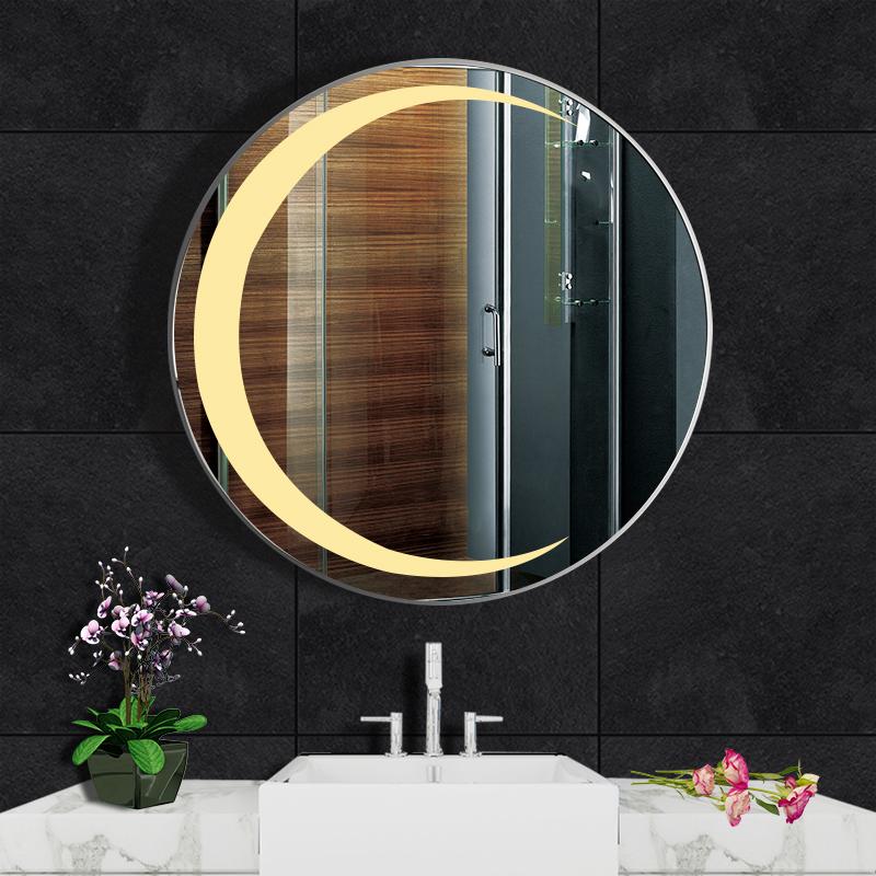 [ auto xinh ] gương tròn makeup trang điểm có đèn led cảm ứng phá sương thông minh kích thước D70 - guonghoangkim mirror