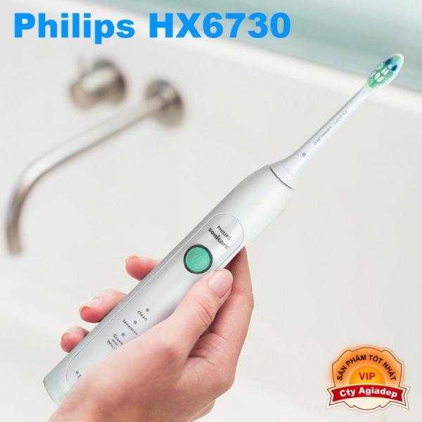 Bàn Chải Đánh Răng Điện Philips HX6730 - Hàng hiệu cao cấp 3 chế độ chải giá rẻ