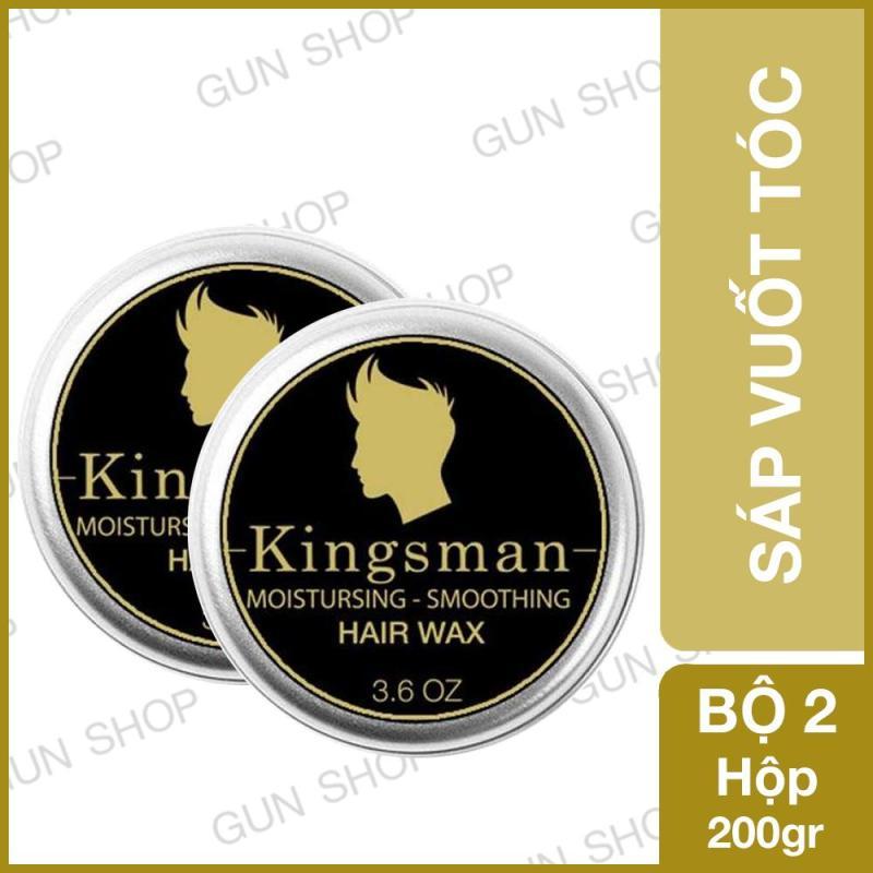 [200gr] Bộ 2 Sáp vuốt tóc Thái Lan Kingsman tạo kiểu cho nam - Gunshop giá rẻ