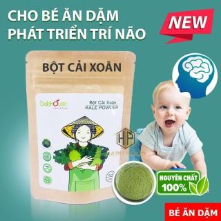Bột cải xoăn Dalahouse - Bột cải Kale ăn dặm cho bé giúp phát triển trí não 50Gr - 10g thumbnail