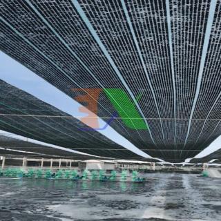 Lưới cắt che nắng nông nghiệp, Màng che nắng cho cây trông, Lưới chắn nắng xây dựng (Kich thước 2 x 50m) thumbnail
