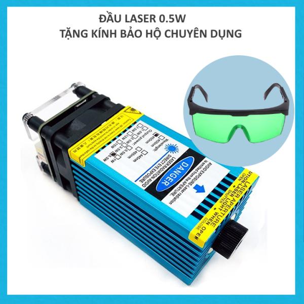 Đầu khắc laser cho máy khắc cnc công suất 0.5w 15w+ Tặng kèm kính laser bảo vệ mắt