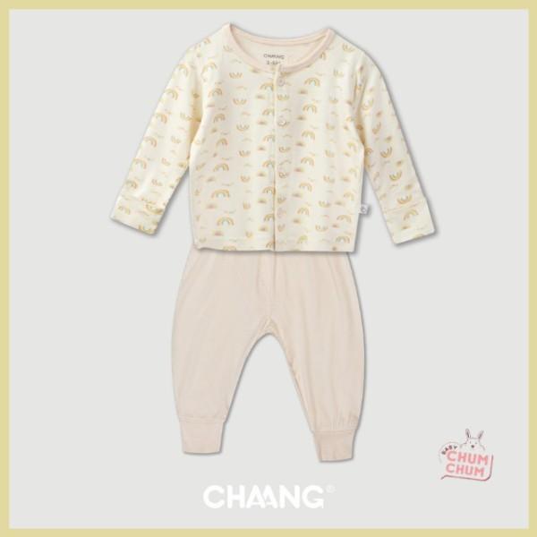 Giá bán [NEW] Set Bộ Dài Cotton Cúc Giữa Summer Be 0-6M Chaang Babychumchum