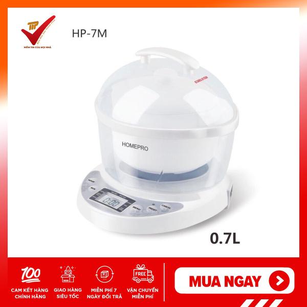 Nồi chưng yến điện tử Homepro HP-7M (0.7 lít) - Hãng phân phối