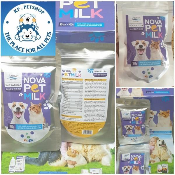 Sữa cao chấp chó mèo -   Nova PetMilk ( Giá tốt )