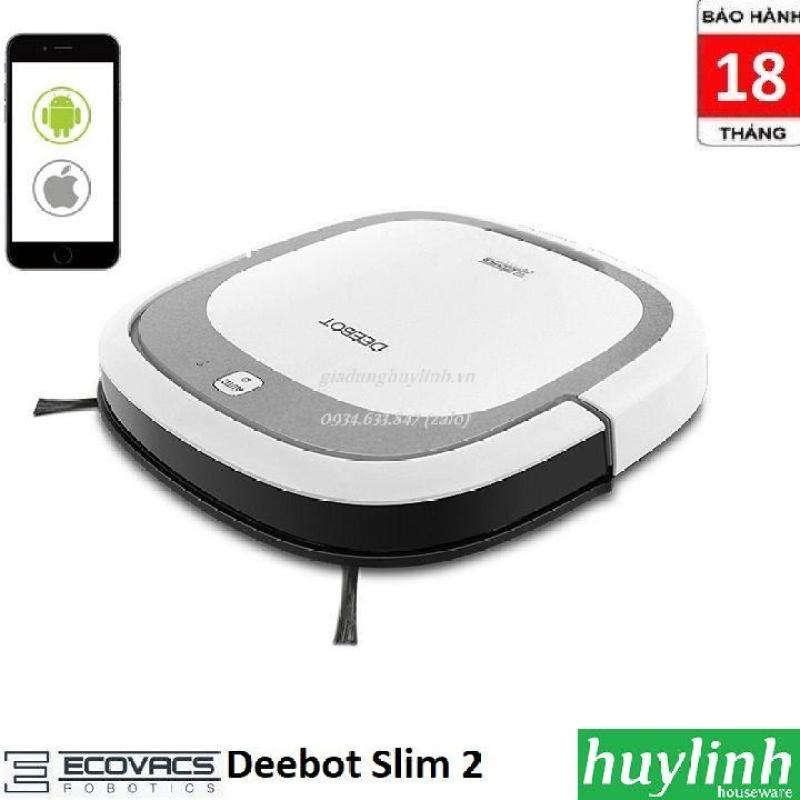 Robot hút bụi lau nhà Ecovacs Deebot Slim 2 - Chính hãng