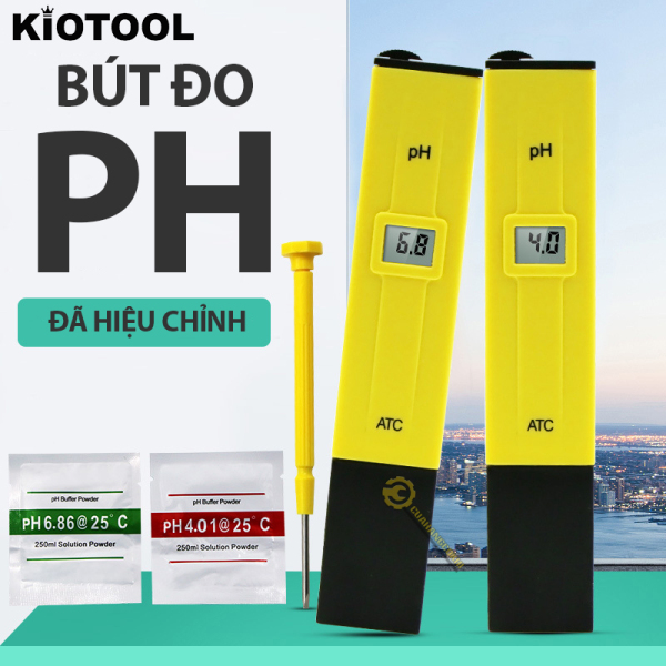 Bút đo chỉ sô pH độ chính xác cao dành cho thủy sinh - Bảo hành 12 tháng 1 đổi 1 - Đã hiệu chỉnh sẵn chỉ việc về dùng