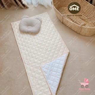 Lót chống thấmLót thay bỉm Ome 100 cotton organic siêu thấm hút an toàn thumbnail