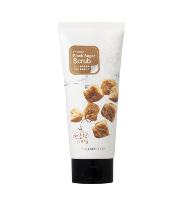 Tẩy Tế Bào Chết, Dưỡng Da Mịn Màng Với Hỗn Hợp Mật Ong Và Đường Đen The Face Shop Smart Peeling Honey Black Sugar Scrub 120ml giá rẻ