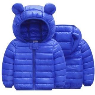 Áo phao trẻ em mẫu tai gấu ngộ nghĩnh dành cho bé 1-5 tuổi. Thiết kế xinh xắn thumbnail