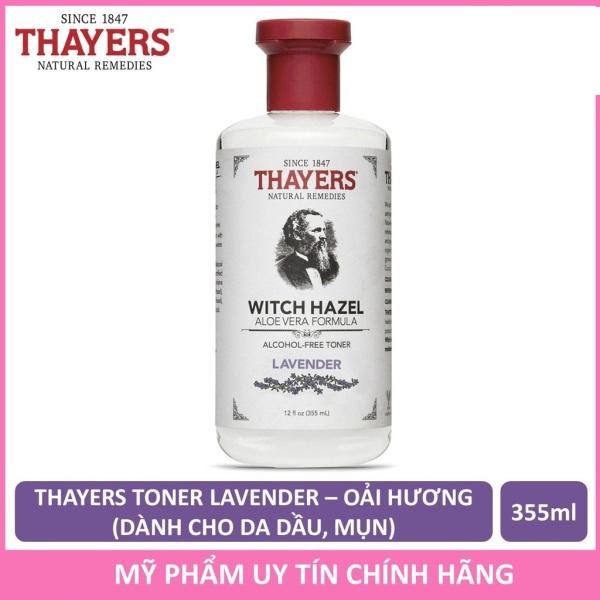 Nước Hoa Hồng Không Cồn Thayers Witch Hazel Lavender (Oải Hương) 355ml (Dành cho da dầu, da có mụn) giá rẻ