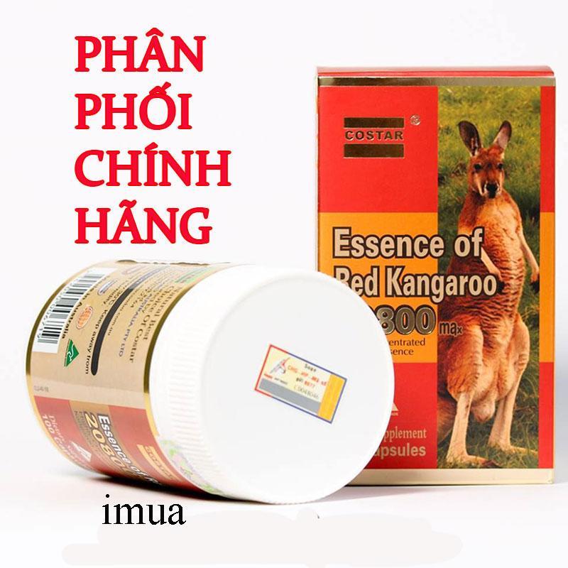 Viên uống Bổ thận tăng cường sức khỏe nam giới Red Kangaroo Costar 20800 nhập khẩu