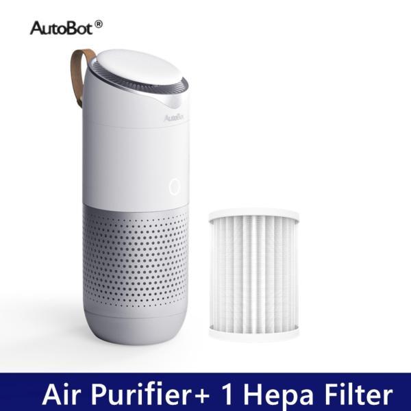 Máy Lọc Không Khí Autobot, Lọc Bụi PM 2.5, Khử Mùi Trong Gia Đình, Văn Phòng, Xe Hơi Kèm 2 Bộ Lọc HEPA
