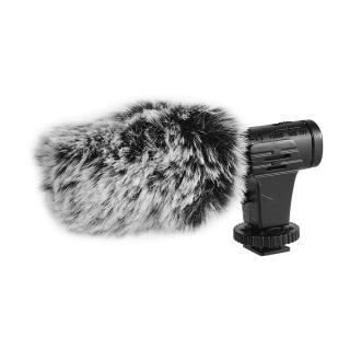 Máy ảnh DSLR điện thoại micrô phỏng vấn quay video vlog thu âm siêu cardioid micrô nhỏ kèm tai nghe màn hình kính chắn gió cho Máy quay phim ca-non/ni-kon/so-ny cho điện thoại thông minh i-Phone Android