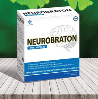 Viên Uống Bổ Não NeuroBraton- Giúp Tăng Cường Trí Nhớ, Cải Thiện Di Chứng Sau Tai Biến Mạch Máu Não Do Tắc Mạch thumbnail