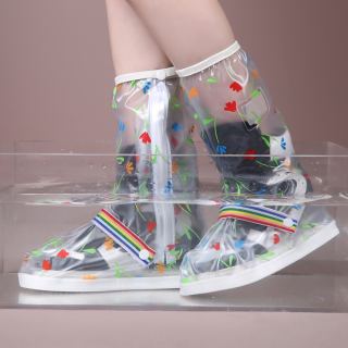 Bao bọc giày đi mưa A-383 nhựa dẻo 100% PVC
