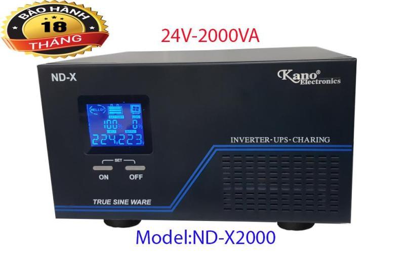 Bảng giá Bộ Kích Điện Sin Chuẩn inverter-ups-charing 24V - 2000VA. Phong Vũ