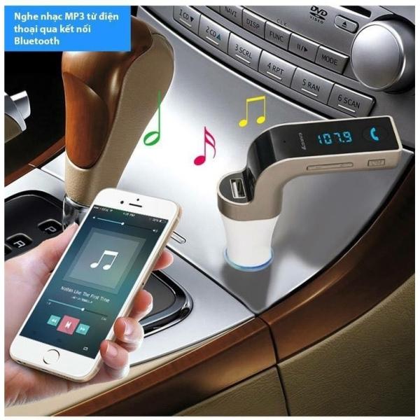 Tẩu Car G7 Sạc, nghe nhạc Bluetooth trên ô tô