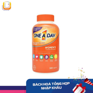 [DATE 1. 2023] Vitamin tổng hợp dành cho phụ nữ One A Day Women s Multivitamin 300 viên thumbnail