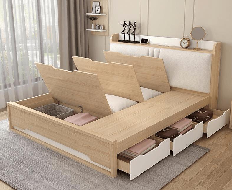 giường ngủ hiện đại thông minh GN-0002