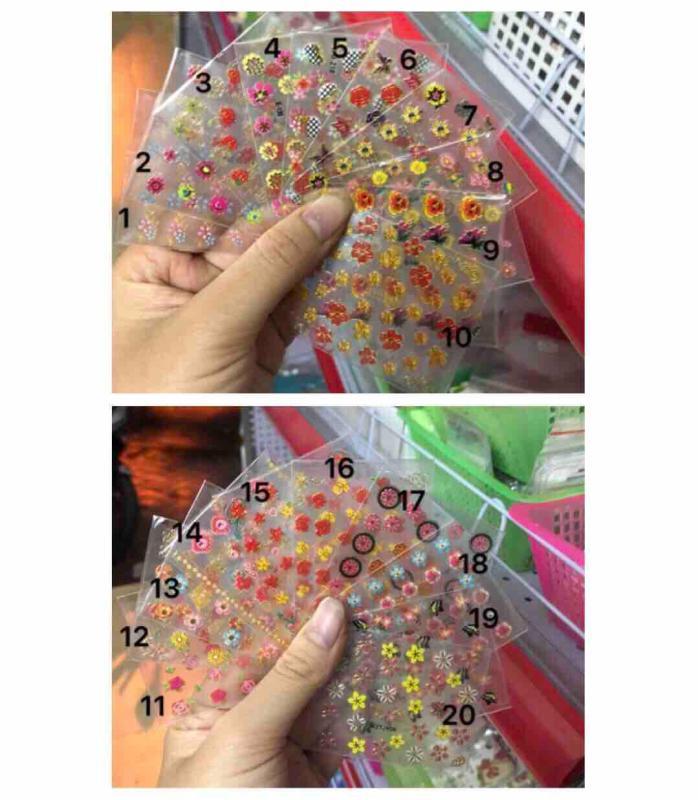 Sticker dán móng mẫu nhỏ nhập khẩu