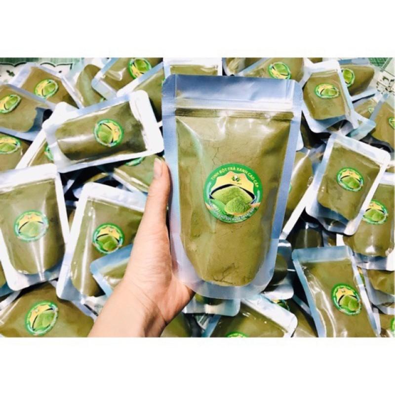 Đẹp da giảm nhờn Bột trà xanh nguyên chất, mới hàng mới, hàng nhập khẩu