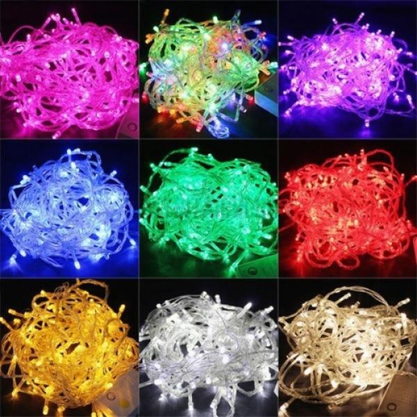 Bảng giá Đèn led trang trí dây chớp 5m nhiều màu, tự chọn, đèn nháy, đèn chớp nháy, đèn trang trí noel, đèn trang trí tết, đèn trang trí phòng khách, phòng ngủ cực đẹp - thegioisilevip