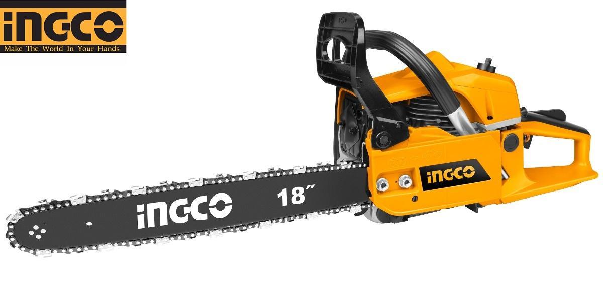1.8KW - 445mm Máy cưa xích xăng INGCO GCS45185