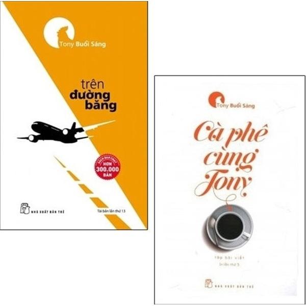 Mua Fahasa - Combo Sách Hay Cà Phê Cùng Tony + Trên Đường Băng (Bộ 2 Cuốn)