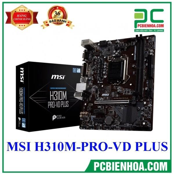 Bảng giá Mainboard MSI H310M Pro-VDH Plus ( LGA1151 / M-ATX / 2xDDR4 ) Phong Vũ