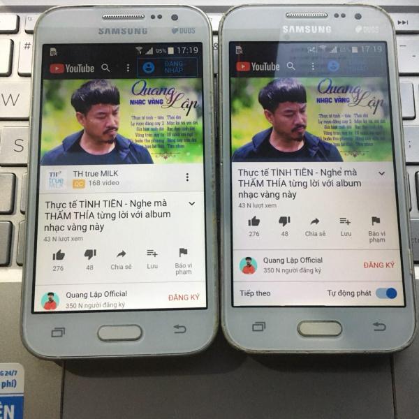 Điện thoại giá rẻ cảm ứng Samsung G360 đủ chức năng (tặng kèm ốp lưng)