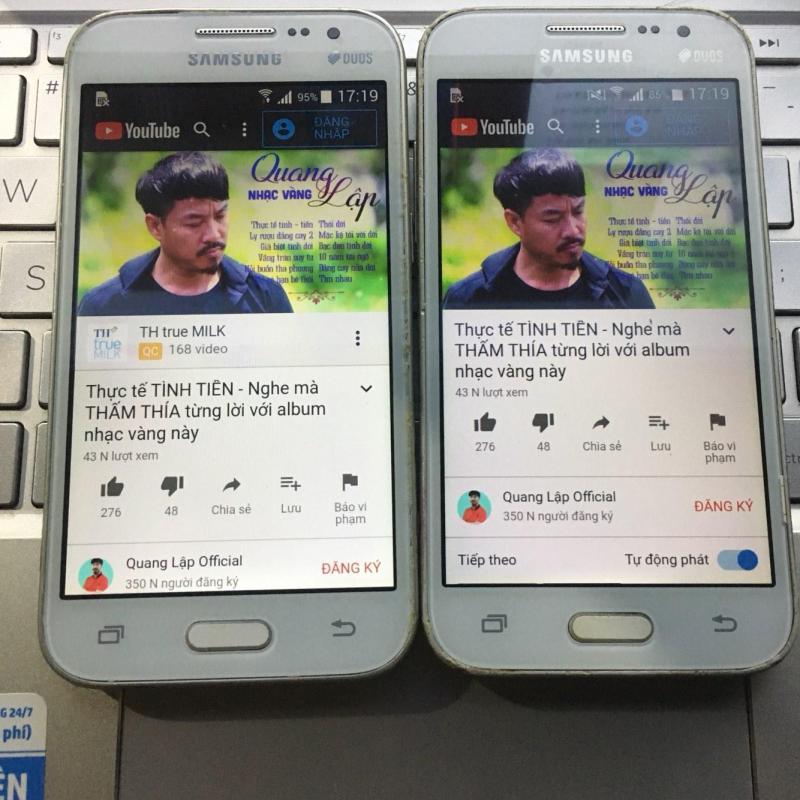 Điện thoại giá rẻ cảm ứng Samsung G360 đủ chức năng