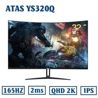 [Nhập ELMAY21 giảm 10% tối đa 200k đơn từ 99k]Màn hình 32 inch cong 2K ATAS YS320Q - Màn hình 32 inch ATAS - Màn hình Gaming 32 inch ATAS - Tần số quét 165Hz - Phiên bản 2021 thumbnail