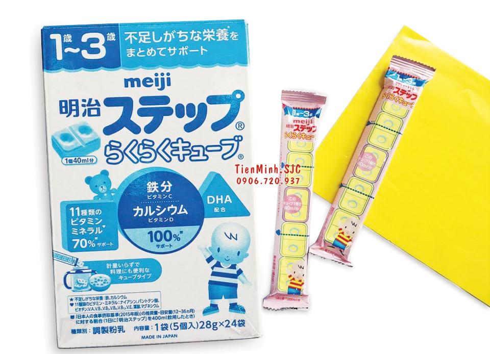 [ TÁCH LẺ THANH] Sữa Meiji số 9 dạng thanh...
