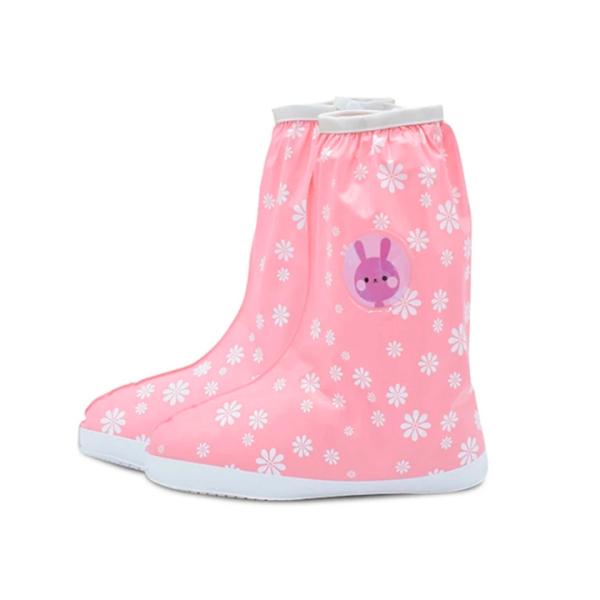 Giá bán Ủng đi mưa bọc giày cho bé 3-10 tuổi bằng nhựa 2 lớp chống thấm tuyệt đối hình thú đáng yêu đủ màu sắc xinh xắn BBShine – AM007