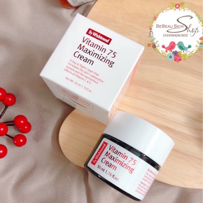 Kem dưỡng Vitamin 75 Maximizing Cream