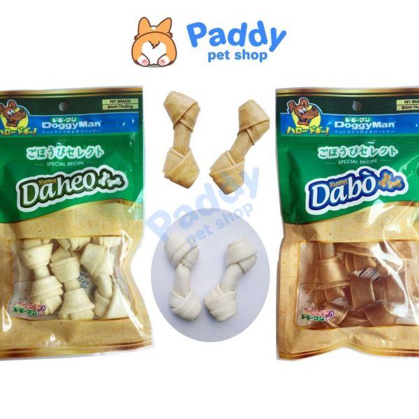 Xương Da Bò & Da Heo Nhiều Loại Snack Cho Chó DoggyMan