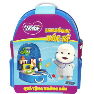 [QUÀ TẶNG KHÔNG BÁN] Balo đồ chơi bác sĩ Bobby thumbnail