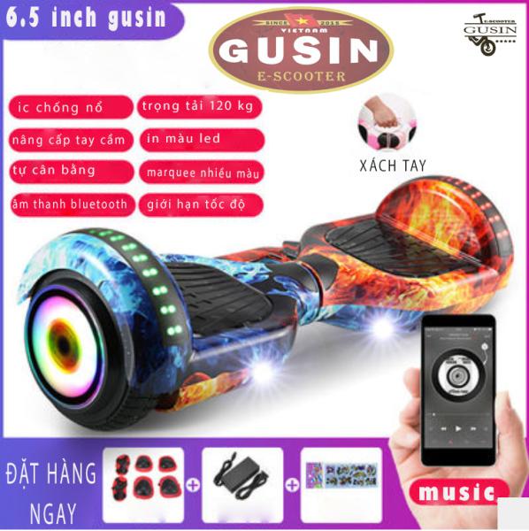 Mua xe điện cân bằng 6.5 inch  / xe tự cân bằng / xe thăng bằng 2 bánh / GUSIN sỉ lẻ xe cân bằng toàn quốc