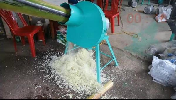 Máy thái chuối siêu mịn tại Long An- Máy băm chuối siêu nhỏ