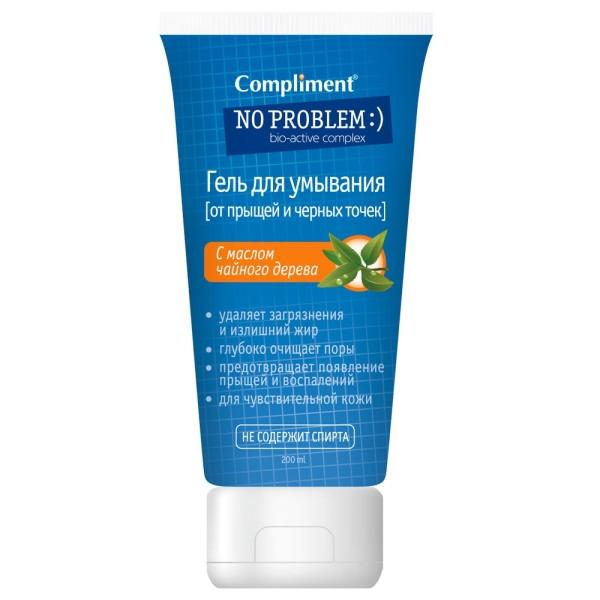 Gel Rửa Mặt Giảm Mụn Compliment No Problem 200ml