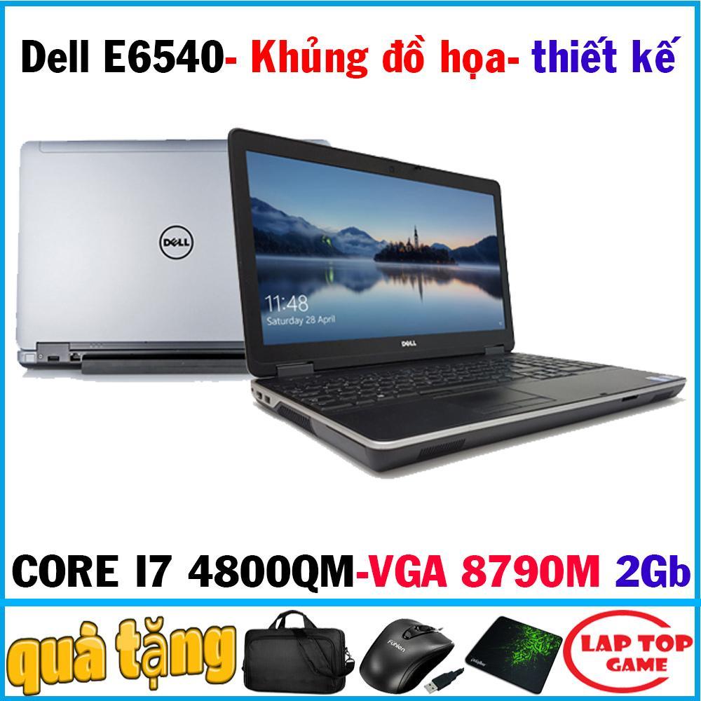 Laptop Dell Latitude E6540 - Quái Vật đồ Họa Giá Rẻ Core I7 4800QM, RAM 8G, HDD 500G, VGA Radeon 8790M 2Gb, MÀN 15.6 FHD 1920*1080 DÒNG MÁY ĐỒ HỌA 3D, KỸ SƯ, LẬP TRÌNH CHUYÊN NGHIỆP Có Giá Cực Kỳ Tiết Kiệm