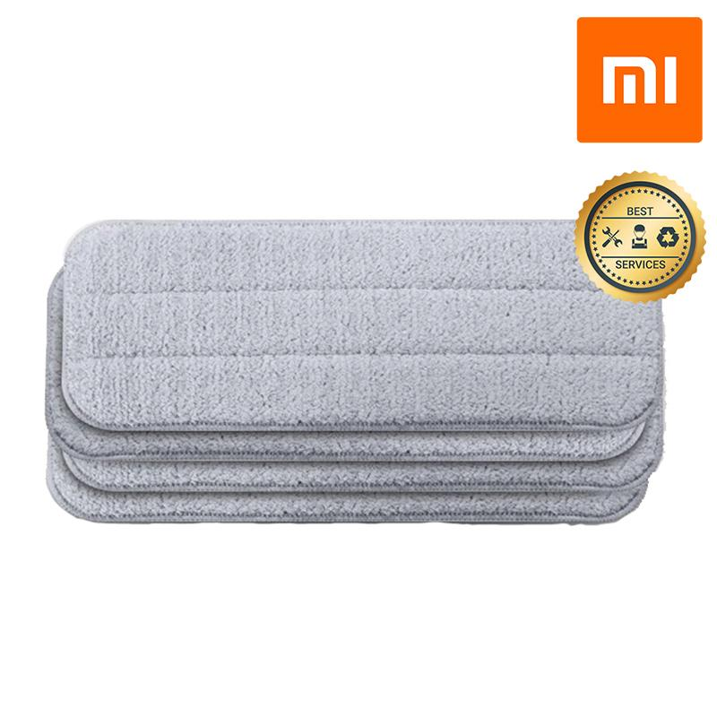 Bộ 04 khăn thay thế cây lau nhà phun nước Xiaomi Deerma TB01 (Xám)