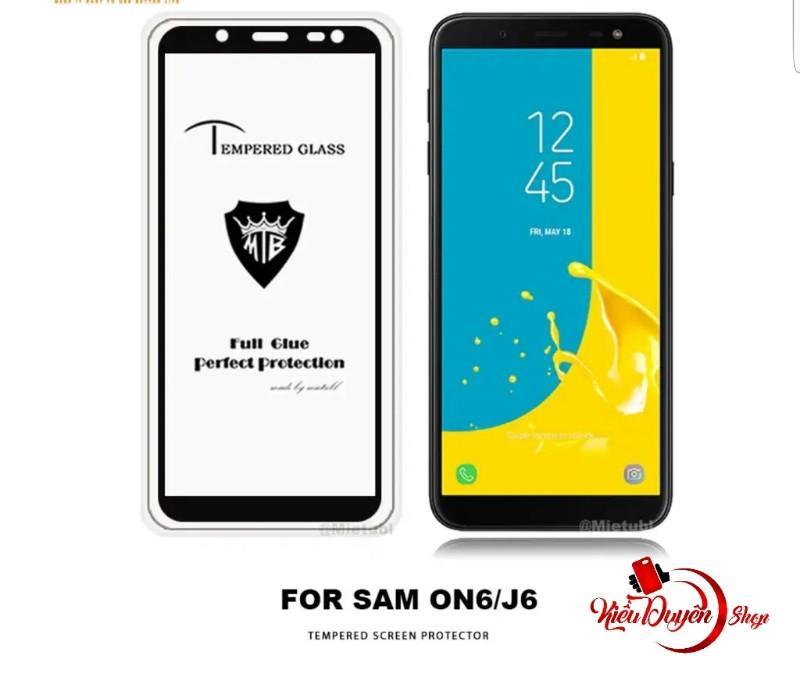 Samsung Galaxy J6 2018 Dán cường lực 5D full màn hình