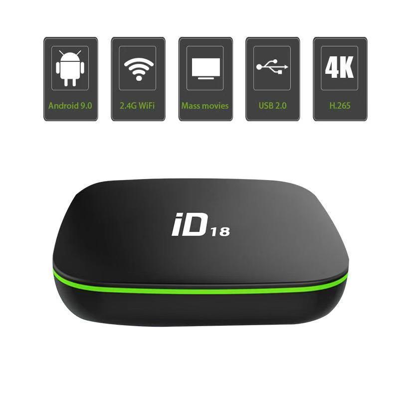 Bảng giá Poly mall (xã kho 3 ngày ) ID18 Android 9.0 os TV Box 2GB 16GB 4K 2.4GHz Wifi Quad Core Smart TV Box Điện máy Pico