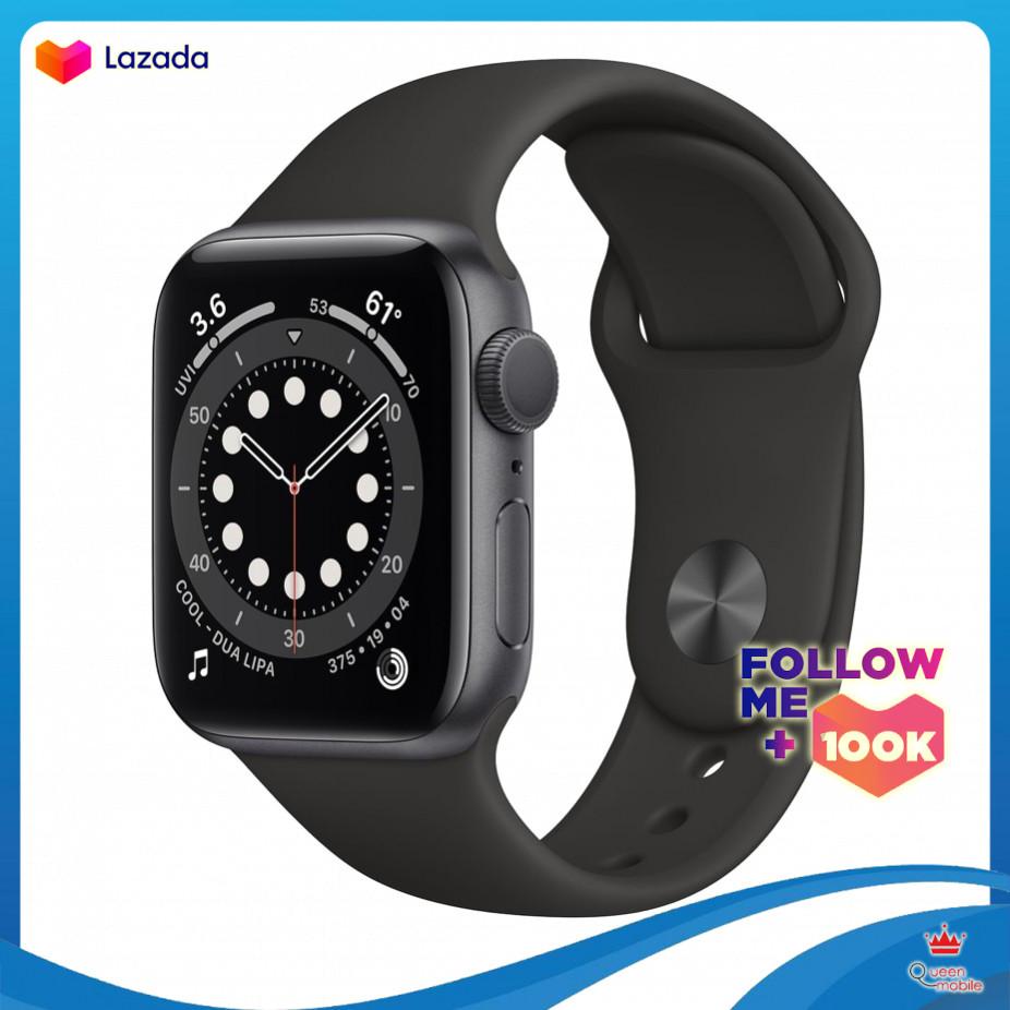 Đồng Hồ Apple Watch series 6 (GPS) viền nhôm dây cao su 40-44mm - mới 100% chưa active