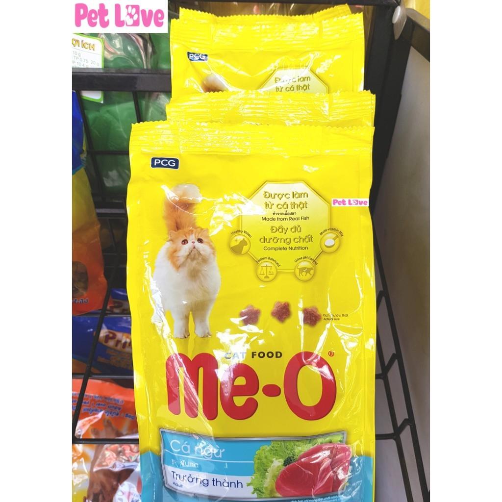 Offer Giảm Giá COMBO 4 MEO Thức ăn Hạt Cho Mèo Lớn (4 X 350g/ Gói = 1,4kg)