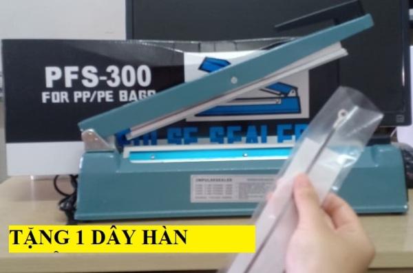 [HCM]Khuyến mãi MÁY HÀN MIỆNG TÚI PFS 300 VỎ SẮT bảo hành 03 tháng tặng bộ dây tải nhiệt