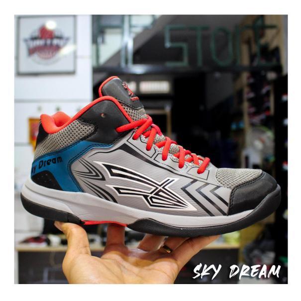Giày đánh bóng chuyền nam chuyên dụng Sky Dream cao cấp, đế cao su tổng hợp, giày thể thao bóng chuyền, bóng rổ nam đẳng cấp, chuyên nghiệp, form ôm chân chống lật cổ chân. giá rẻ